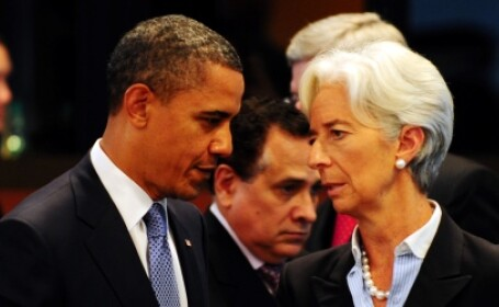 christine lagarde barack obama