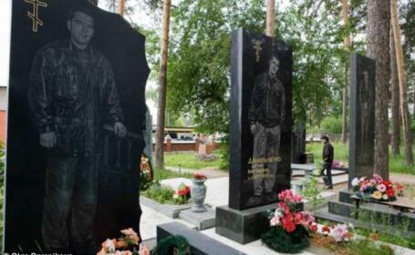 morminte mafioti, cimitir, Rusia