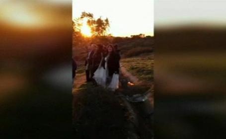 Ghinionul teribil pe care l-au avut in ziua nuntii lor. \
