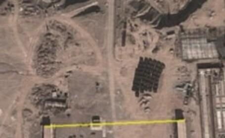FOTO. Constructii ciudate filmate de Google Earth in desertul din sudul Chinei
