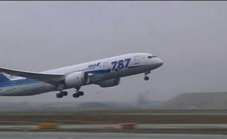 Responsabilii aviatiei civile americane vor verifica toate aeronavele Dream-liner 787, de la Boeing