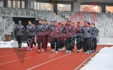 Primul antrenament pentru U Cluj in 2013! Lotul prezent la reunire
