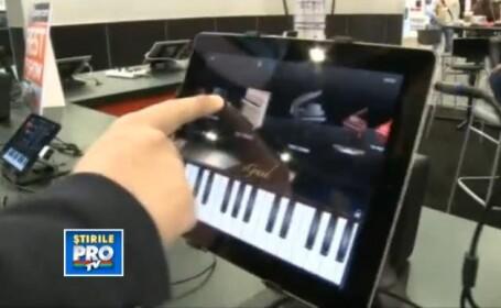 Inventia prin care iti poti transforma iPad-ul in cel mai tare studio de muzica,prezenta la CES 2013