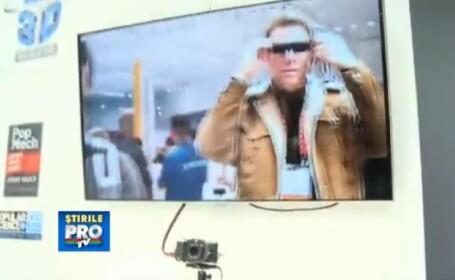 George Buhnici, la CES 2013: Cum arata camera foto 3D si primul televizor curbat din lume