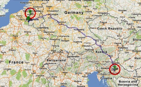 A condus 1448 de kilometri in loc de 144 din cauza unei erori de GPS. \