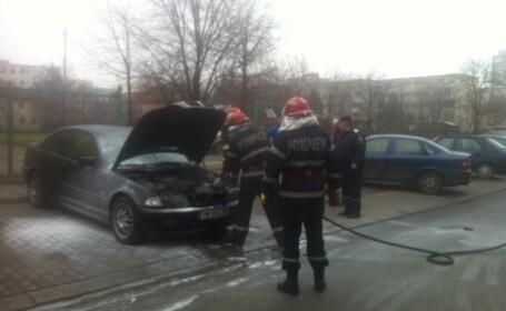 incendiu, BMW