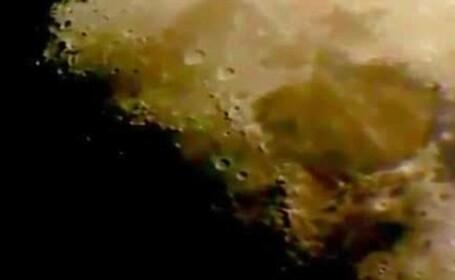 OZN filmat in apropiere de Luna. Clipul care a starnit controverse in randul utilizatorilor YouTube
