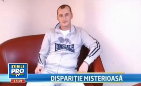 Disparitie misterioasa la Timisoara unde un barbat de 31 de ani, parca a intrat in pamant.