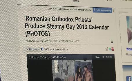 Afacerea din spatele presupusului calendar gay cu preoti din Romania. Ce a descoperit Patriarhia