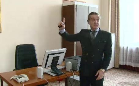 Gigi Becali si-a ales biroul de parlamentar: \