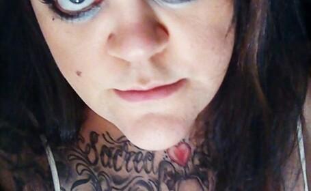 Salvata dupa ce a pus pe Facebook poza cu chipul desfigurat de sotul ei si a cerut ajutor. FOTO