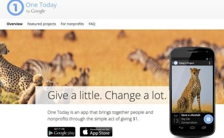 aplicatie, campanie umanitara