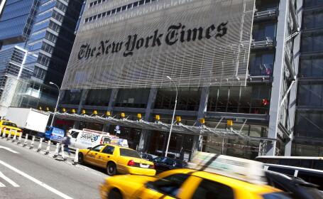 The New York Times a dat erata la un articol scris acum 161 de ani. Articolul era despre cartea \