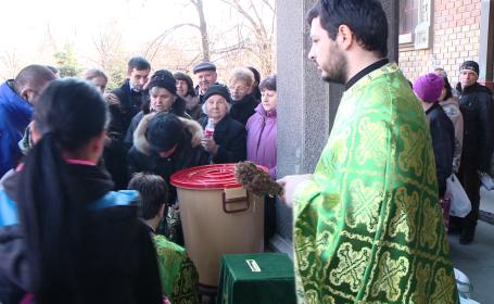 apa sfintita, Catedrala Timisoara