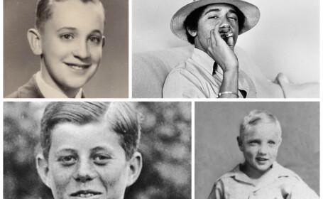 Fotografii de colectie ale unor personalitati de talie mondiala: Obama, JFK, Elvis, Papa Francisc