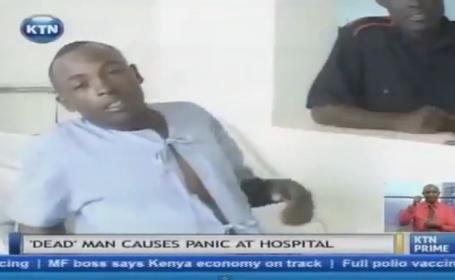 Un barbat din Kenya, declarat mort, a \