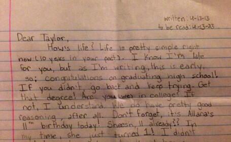 scrisoare Taylor Scout Smith