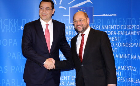 Martin Schulz, Victor Ponta