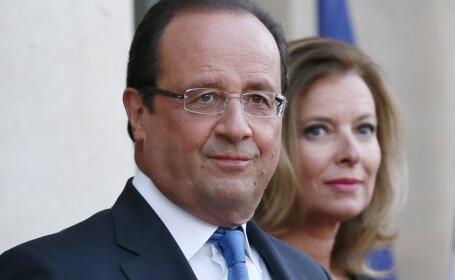 Valérie Trierweiler si Francois Hollande