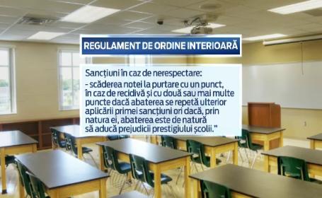 In plin scandal cu dascalii spagari, in unele scoli, profesorii pun tunurile pe elevii care au filmat abuzurile