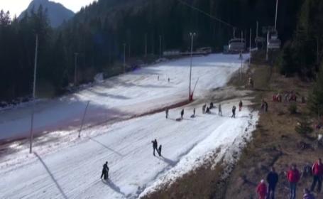 Caldura neobisnuita pentru ianuarie, cosmarul schiorilor. Cum se pot distra turistii de la munte in acest week-end