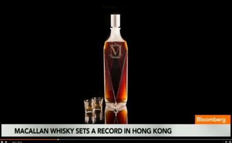 O sticla de whiskey a fost vanduta pentru 628.205 dolari. Ce il face asa special
