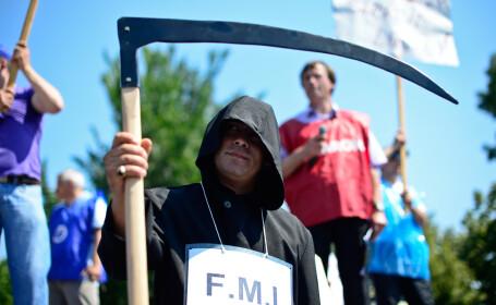protest impotriva FMI