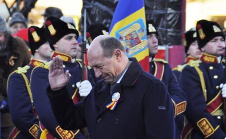 Unirea Principatelor, Traian Basescu