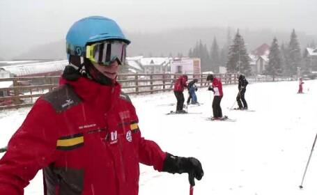 Relansarea sezonului de schi. Partiile de pe Valea Prahovei sunt in stare foarte buna, iar vremea va tine cu turistii