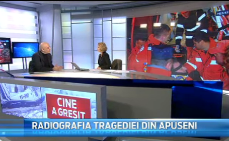 Raed Arafat, la Stirile PRO TV