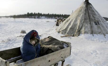 Imagini din cel mai rece oras de pe Pamant, locul unde s-au anuntat -53 grade Celsius