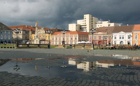 Descoperire istorica in Timisoara. Zidul unei cladiri din perioada Imperiului Habsburgic a iesit la lumina