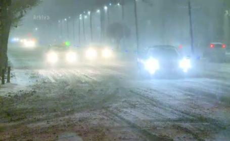 COD PORTOCALIU de ninsori in Bucuresti si Ilfov. Harta strazilor din Capitala in pericol sa se blocheze din cauza traficului