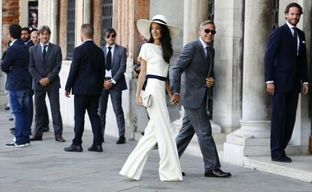 Amal Clooney, sotia actorului George Clooney, risca sa fie arestata daca ajunge in Egipt