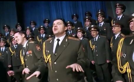 Corul Armatei Ruse revine cu o nou hit, versiunea proprie si extrem de inspirata a melodiei lui Pharrell, Happy