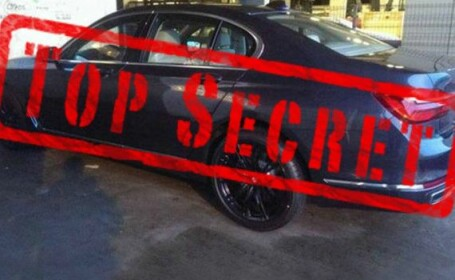 Noul BMW Seria 7 a scapat pe net. Poze complete din baza secreta in care e tinuta masina