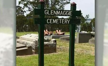 Scandal in Australia, provocat de doua tinere. Opinia publica a fost oripilata de ce au facut intr-un cimitir