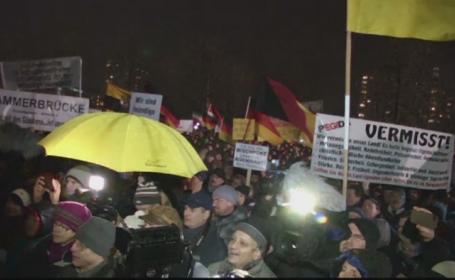 Extremistii de dreapta din Germania au organizat manifestatii impotriva \