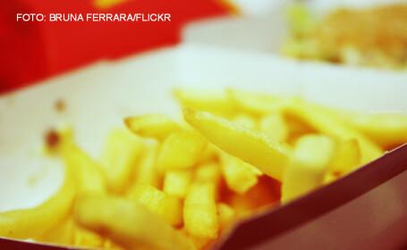 Un barbat din Islanda a mancat o portie de cartofi prajiti de la McDonald\'s veche de 6 ani. Ce s-a intamplat cu acesta. FOTO