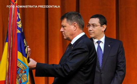Iohannis Ponta steag