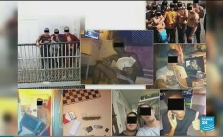 Poze sfidatoare puse pe Facebook de catre detinutii unei inchisori din Franta. Reactia autoritatilor