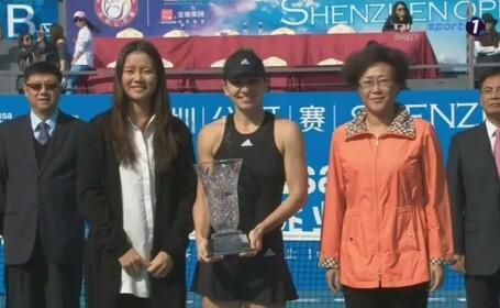Simona Halep a invins-o pe Bacsinszky, scor 6-2, 6-2, si a castigat turneul de la Shenzhen. \