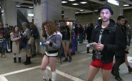 fara pantaloni metrou