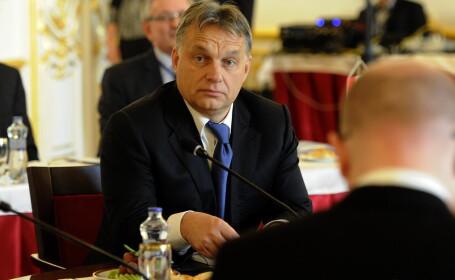 Viktor Orban, la marsul impotriva terorismului: \