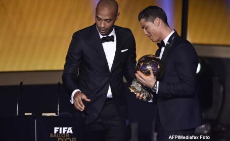 BALONUL DE AUR 2014. Cristiano Ronaldo a castigat trofeul pentru a treia oara in cariera. Pe ce loc a iesit Lionel Messi