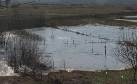 Barbat disparut in luna decembrie, gasit mort intr-o apa inghetata din Dolj. Descoperirea macabra a fost facuta de un copil