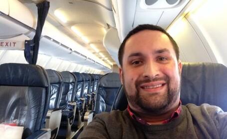 Un barbat din SUA a avut parte de cea mai mare surpriza cand s-a urcat in avion: \