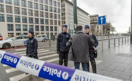 Alerta de la sediul Parlamentului European, declansata de un barbat aflat in stare de ebrietate, a fost anulata