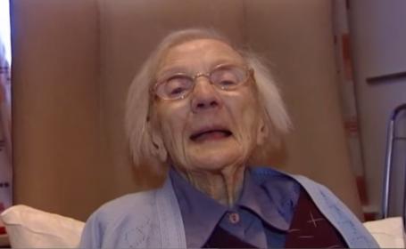 O batrana de 109 ani dezvaluie care e secretul longevitatii sale: \