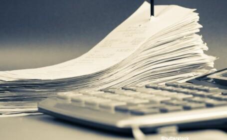 Un barbat din Arad a adunat peste 1.500 de bonuri fiscale de la gunoi. Cate dintre acestea erau castigatoare